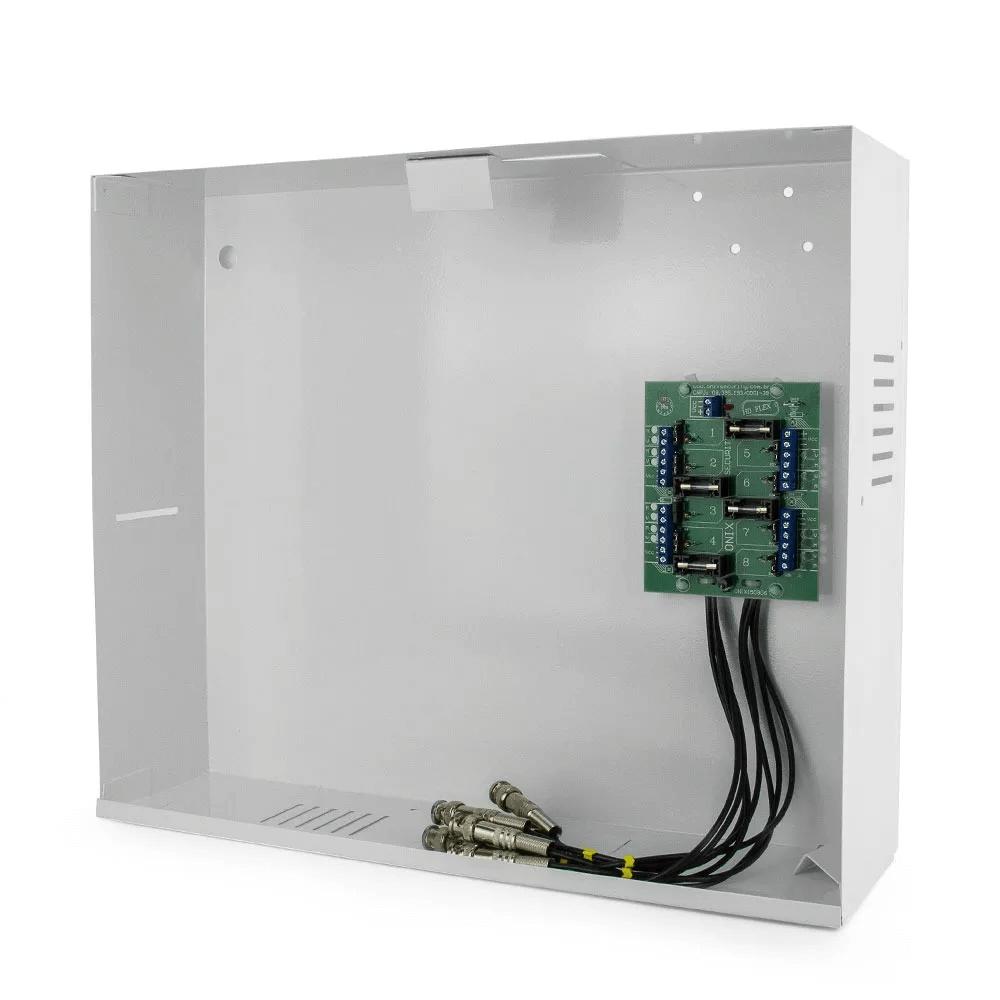 Rack 4 Ch Organizador Mini Orion Hd 3000 Onix + 4 Balun Rack