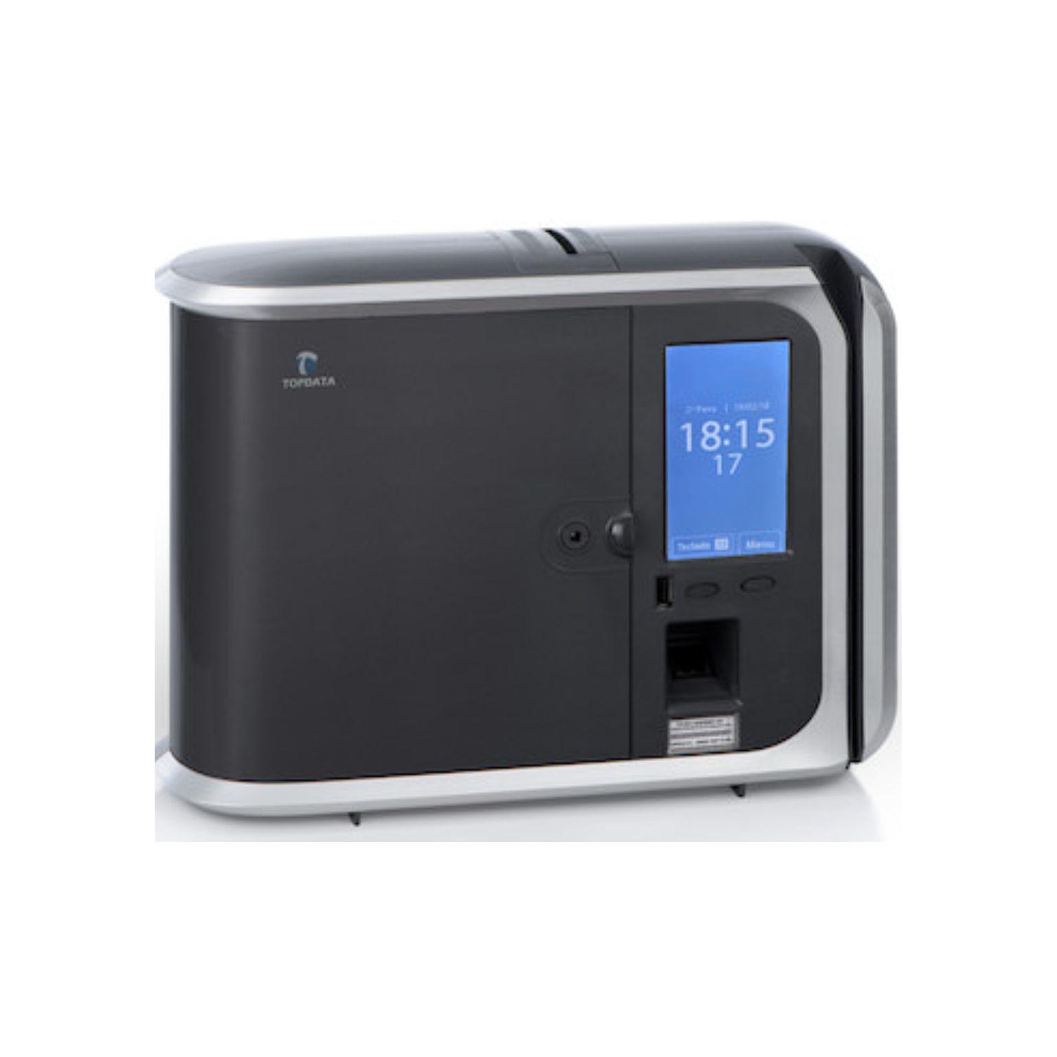 Relógio de ponto Inner 373 LC Biométrico e Código de Barras