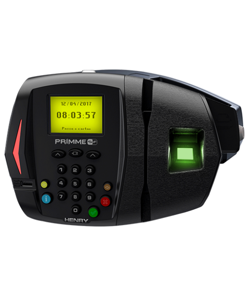 Relógio de Ponto 373 Primme SF Biométrico e Proximidade