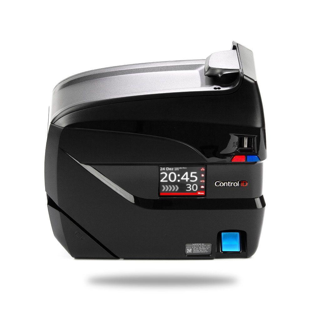 Relógio de Ponto REP iDClass 373 Eletrônico Biométrico e Código de Barras