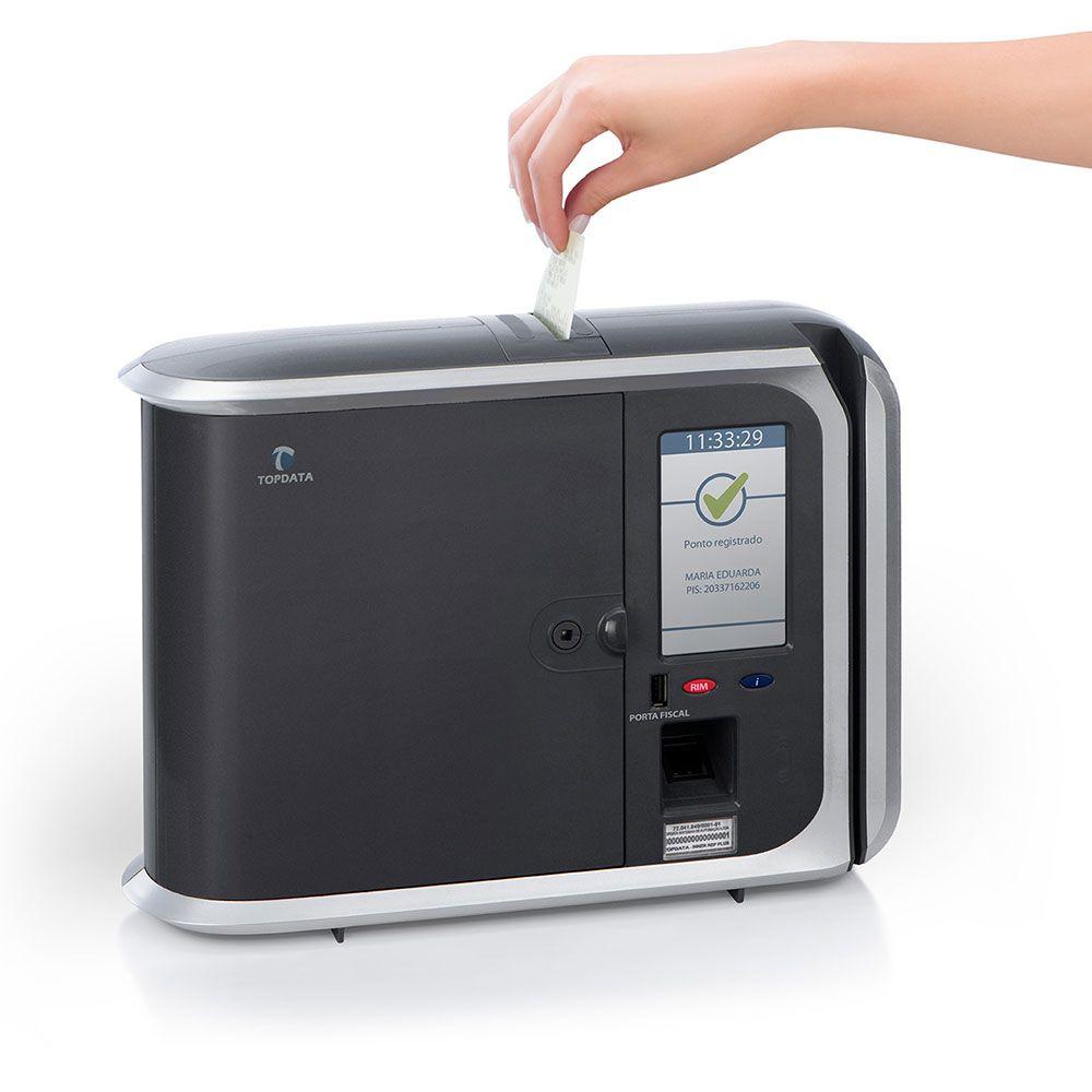 Relógio de ponto Inner REP PLUS LC Biométrico e Código de Barras