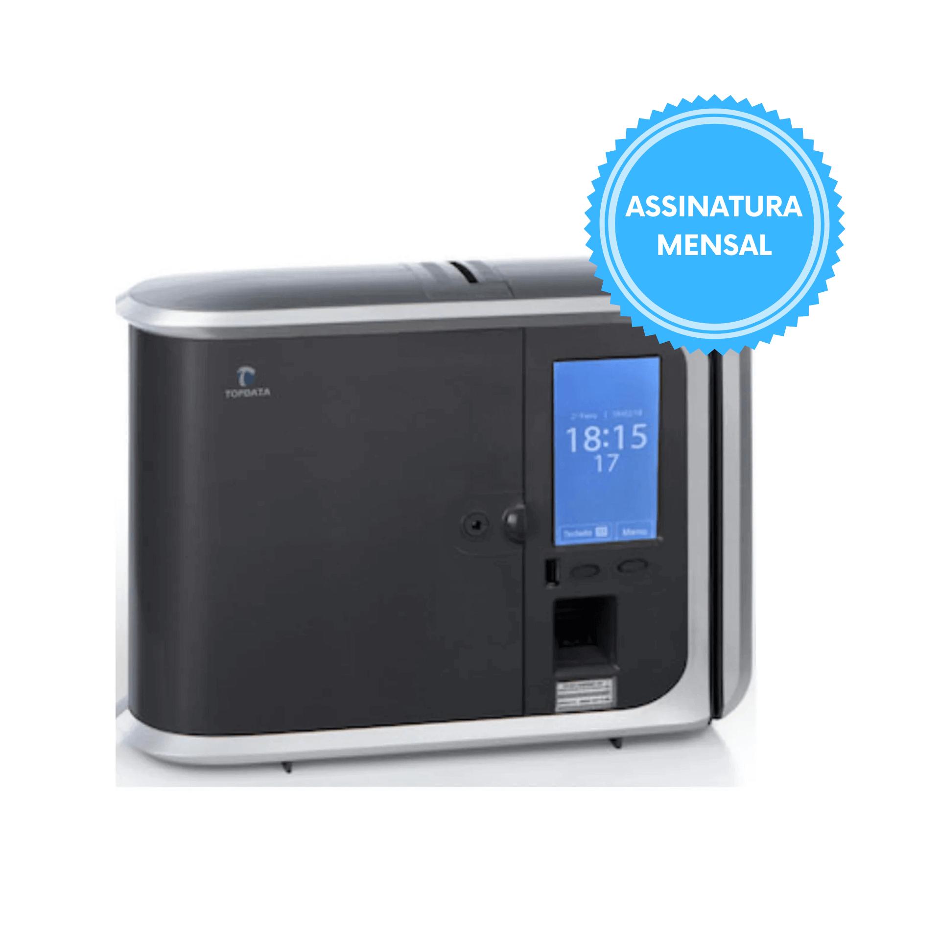 Relógio Ponto Inner 373 PLUS Biométrico Prox Barras Software