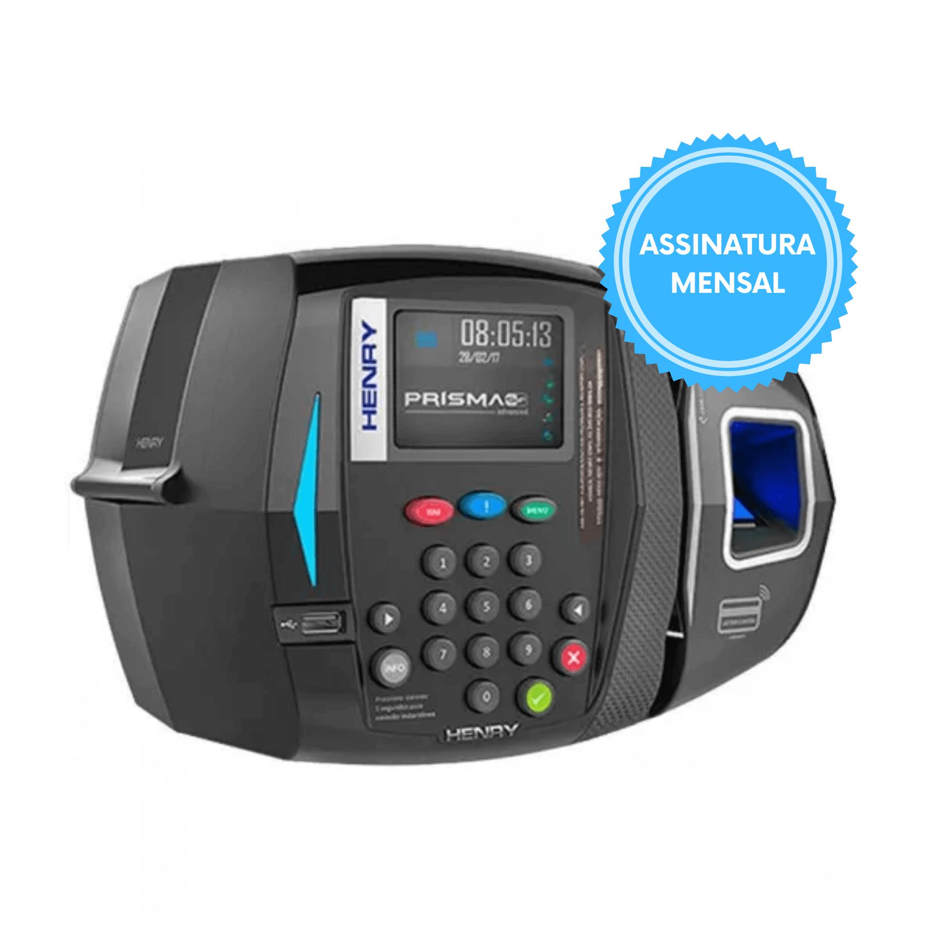 Relógio Ponto REP Prisma SF Leitor Biométrico e Proximidade