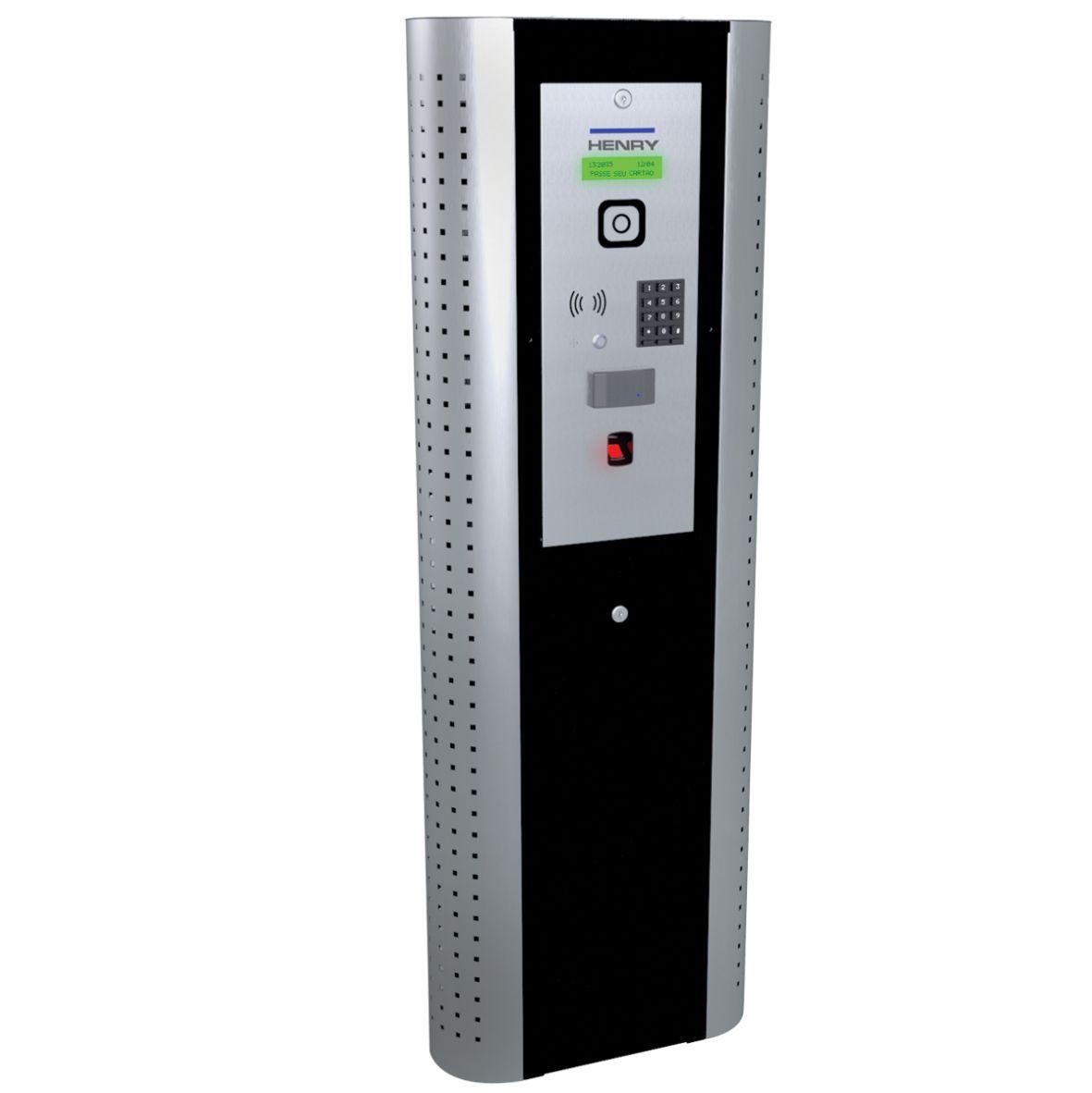 Totem Controlador Acesso Lumen Biométrico Proximidade Cofre