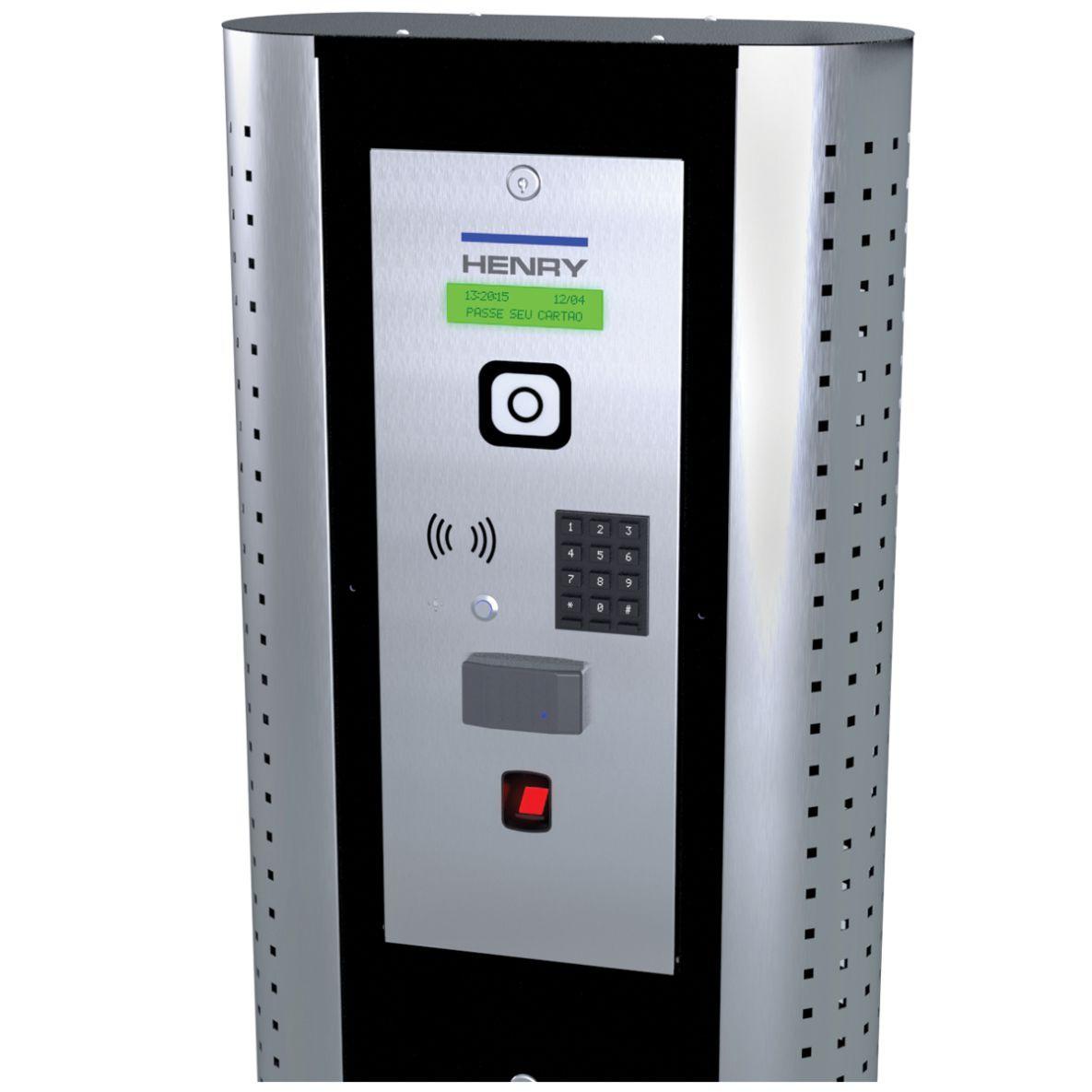 Totem Controlador Acesso Lumen Fluxo Biométrico Proximidade