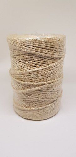 Fio Sisal 200/1 3,2 Mm Natural 200 M Rolo Amarra Uso Geral