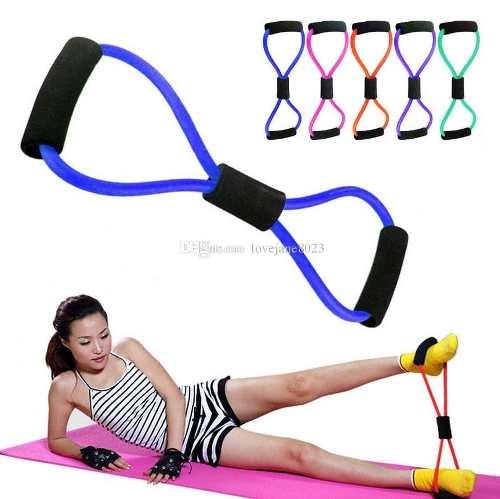 Extensor Elástico Exercícios Musculação