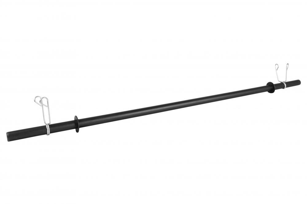 Barra Oca Body Pump 1,20m Para Musculação + Presilhas
