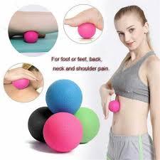 Bola De Massagem Lacrosse Ball 65mm Liberação Miofascial