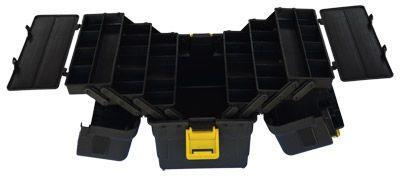 Caixa Pesca 6 Bandejas Articuladas Hi 6bj Completa + Porta carretel