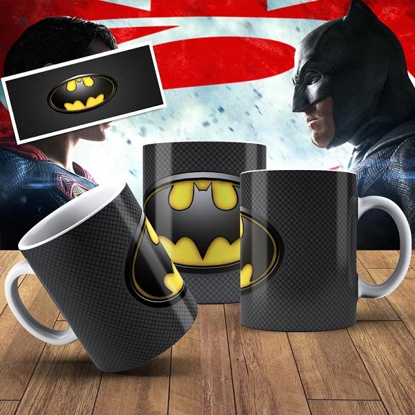 Caneca Porcelana Personalizada Batman- 325ml