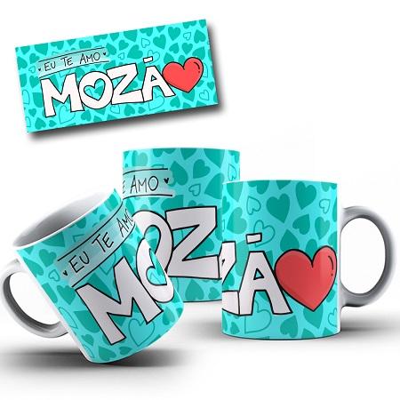 Caneca Porcelana Personalizada  Mozao -325ml