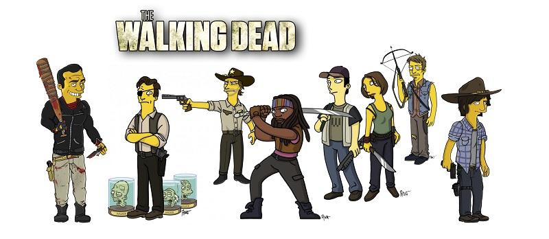 Caneca Porcelana Personalizada The Walking Dead- 325ml