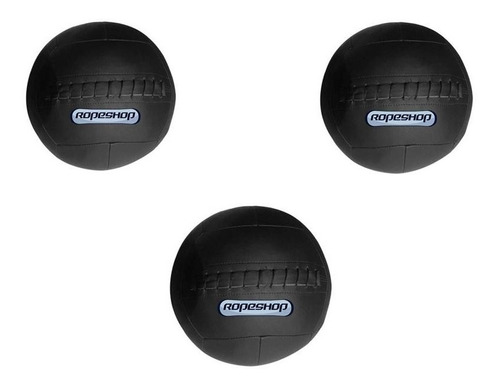 Kit Wall Ball 6 Kg + Wall Ball 8 Kg + Wall Ball 10 Kg