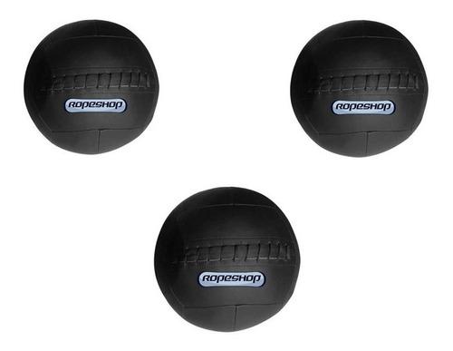 Kit Wall Ball 6 Kg + Wall Ball 8 Kg + Wall Ball 10 Kg