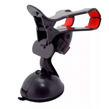 Suporte Veicular Universal para Celulares e GPS com Ventosa - LE-014