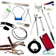 Kit Básico para Odontologia Equina 02 - EVO