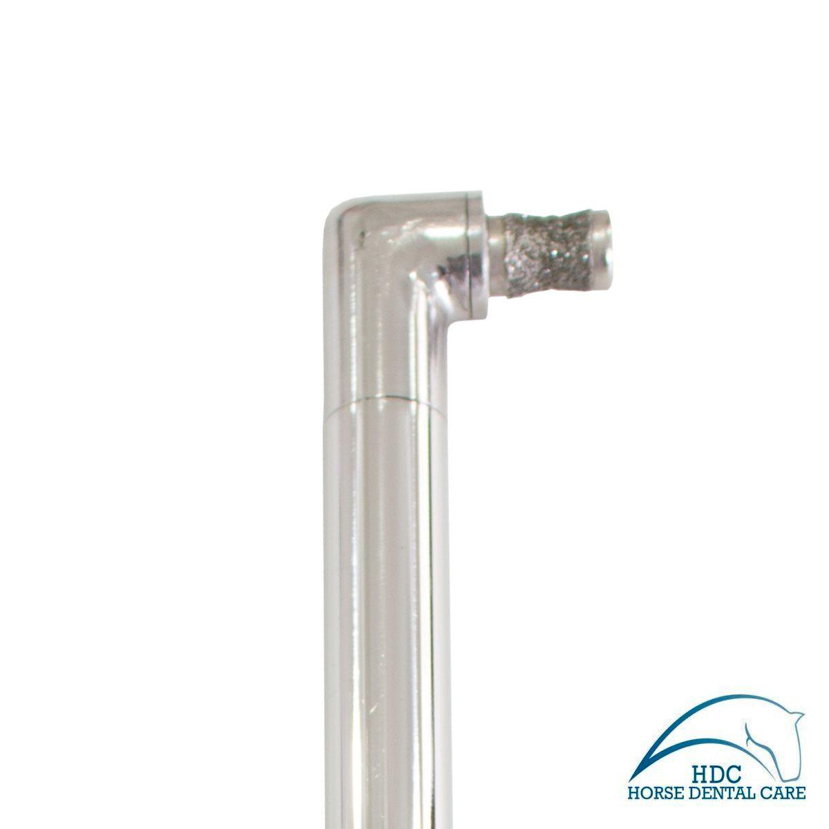 Caneta Odontológica Equina Longa Angulada com Broca Apple Core