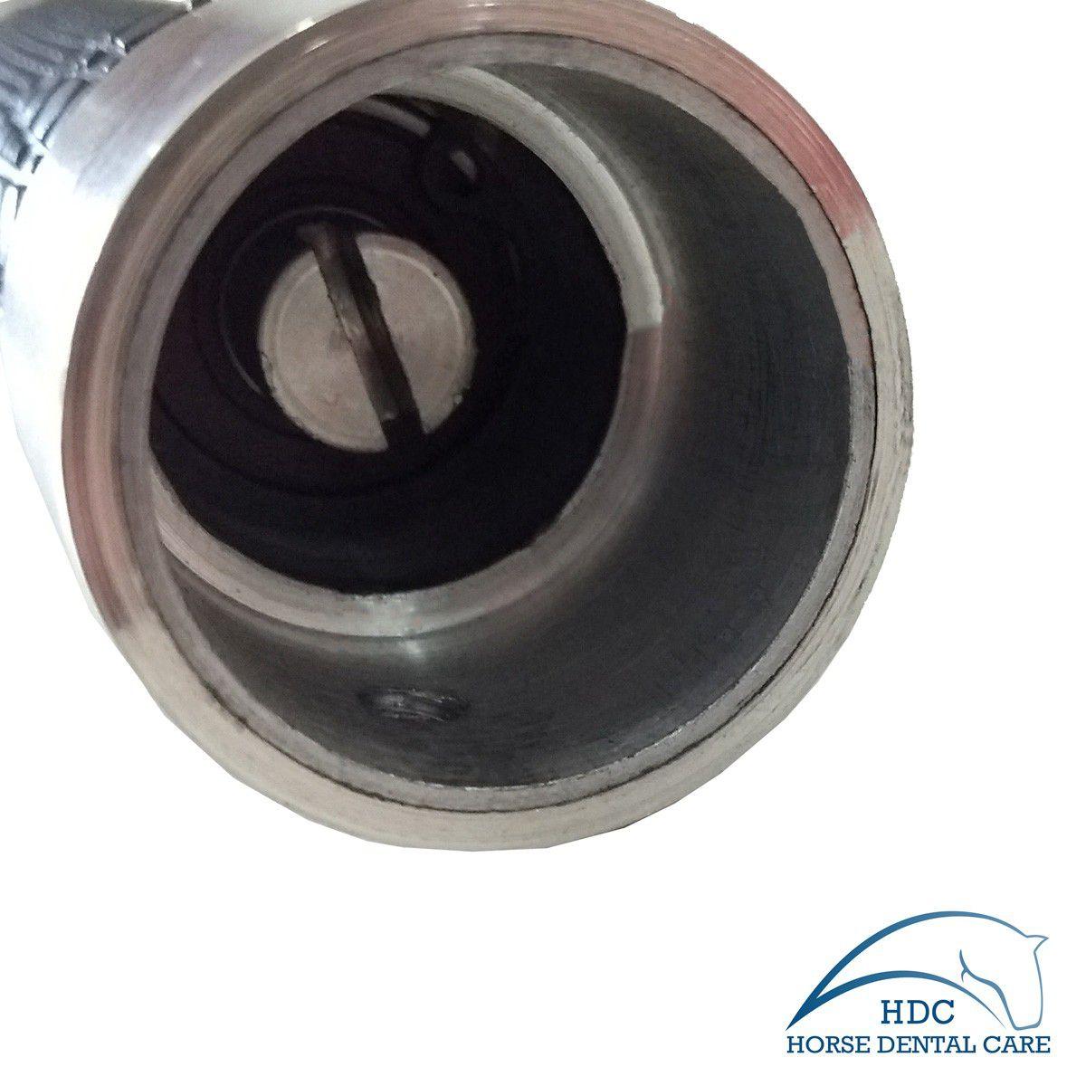Caneta Odontológica Equina Longa Angulada Vestibular (Estacionaria)- EVO