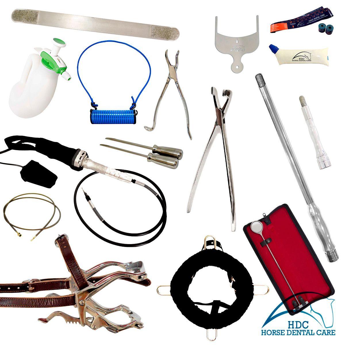 Kit Básico para Odontologia Equina 01