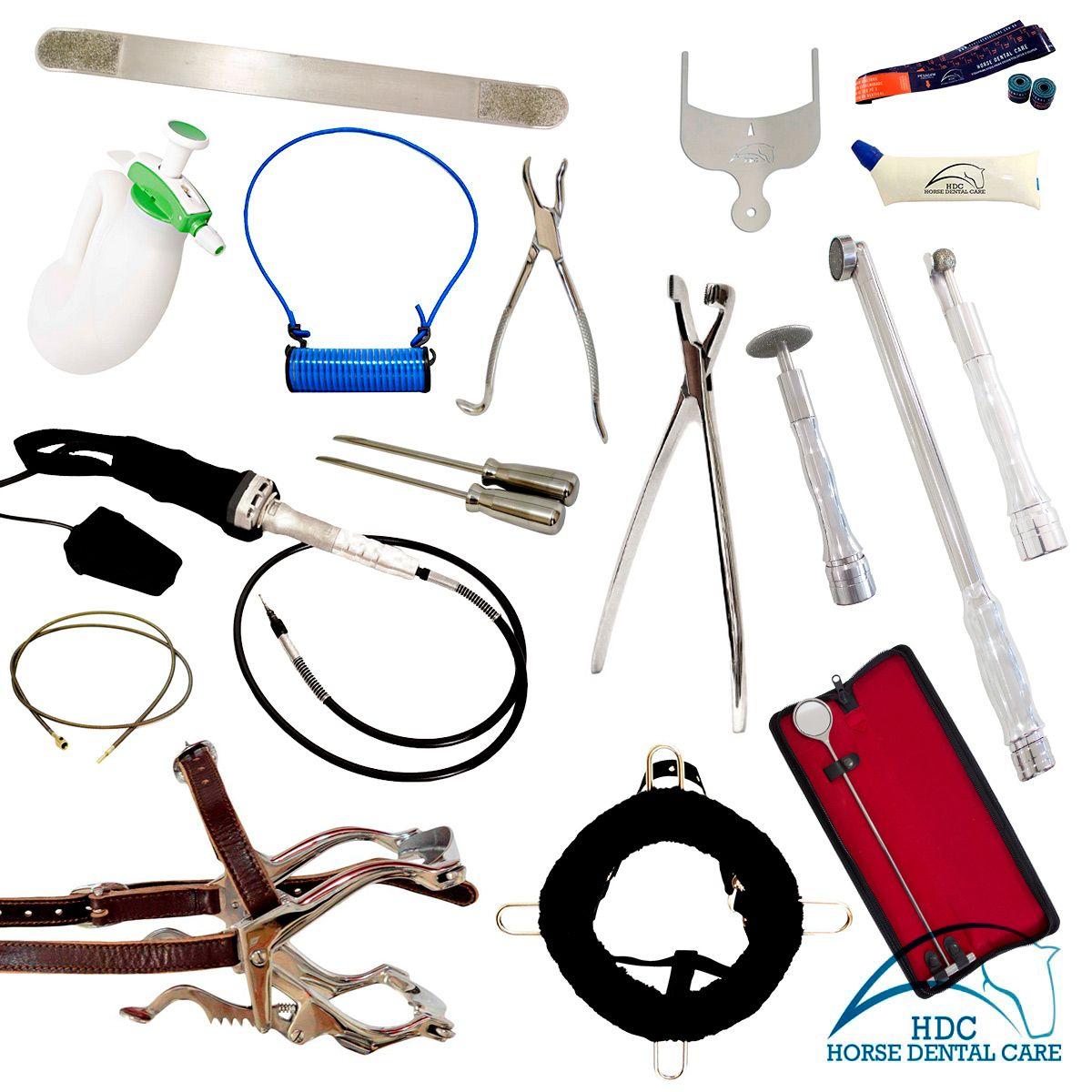 Kit Básico para Odontologia Equina 02