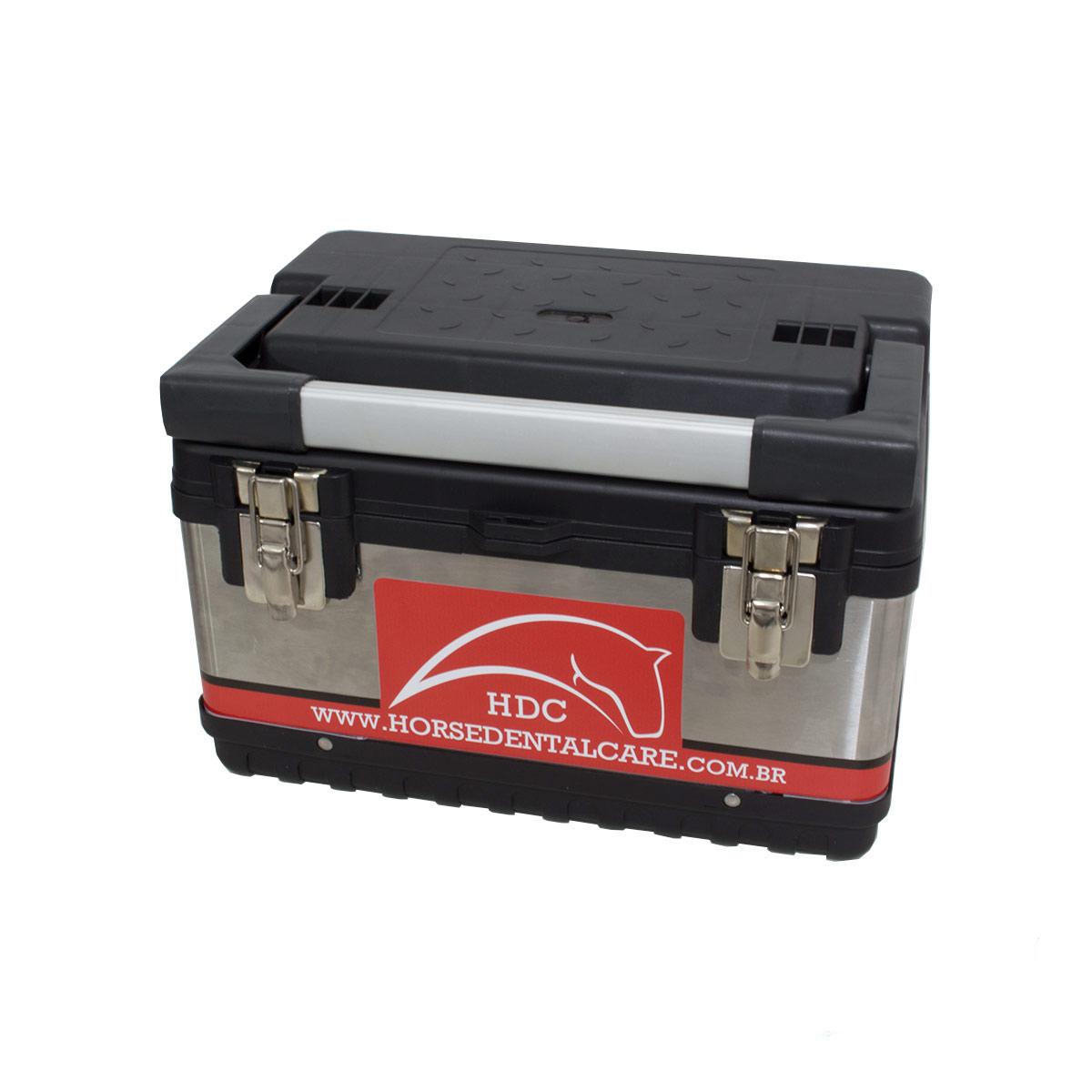 Kit Fotóforo com Bateria Recarregável + Estojo Inox