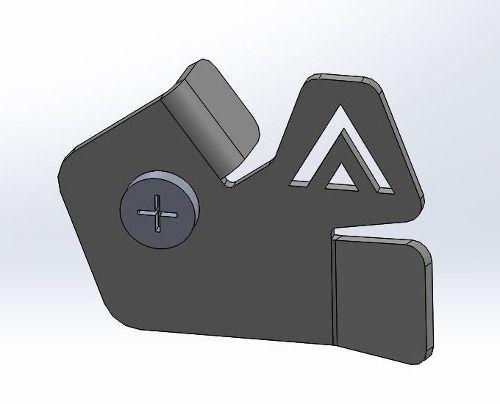 Protetor De Sensor De Abs Dianteiro Bmw R1200gs