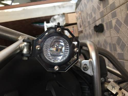 Protetor Farol Auxiliar Original Bmw F800gs R1200gs Adv