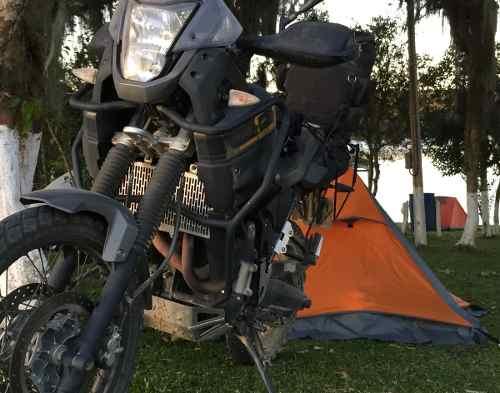 Protetor De Radiador Yamaha Teneré 660 Xtz Grade Em Alumínio