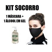 Kit Mascara + Álcool