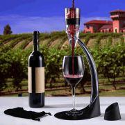 COPY-157-Kit Vinho Magic Decantador Aerador De Vinho Com Torre Suporte