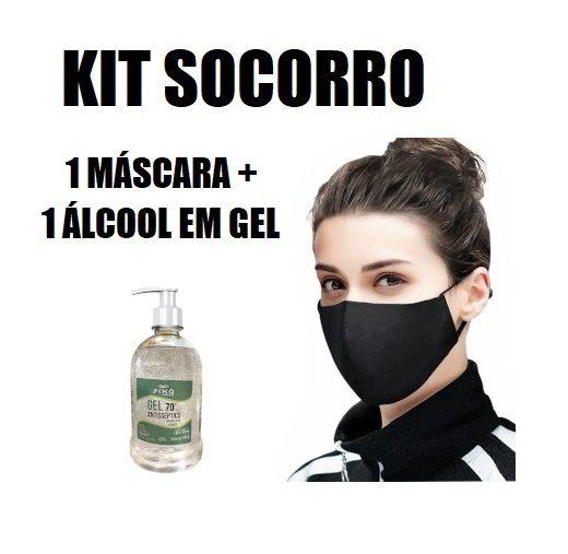Kit Mascara + Álcool