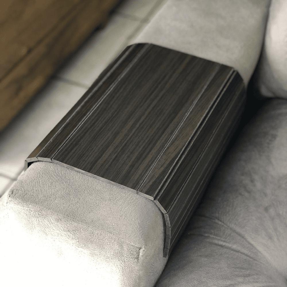 Esteira Para Braço de Sofá Suporte Reto Mdf Tabaco DM Interiores