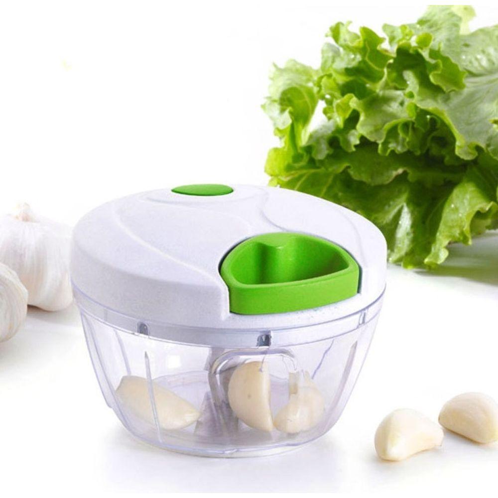 KIT 4 Cortadores  de Legumes Processador de Alimentos Triturador Cortador Manual Picador Cortador Legumes