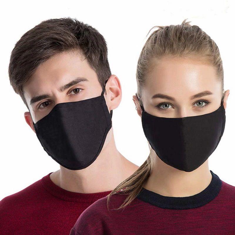 Kit 4 Mascara De Proteção Lavável Não Descartável Tecido