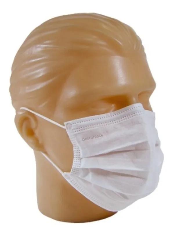 Máscara descartável Kit 50 Unidades