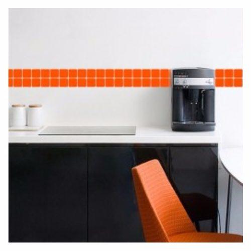 Pastilhas em Vinil Adesivo para Banheiro, Cozinha e Azulejo - 30 X 7 Cm