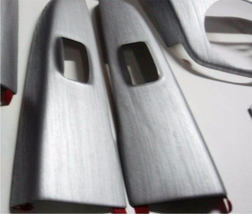 Adesivo Aço Escovado Inox P/ Geladeira Moveis E Carros -  6 X 1 M
