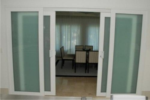 Adesivo Decorativo Jateado liso p/ Vidro, Box, Janela, Porta Etc. 5,0 x 0,50m