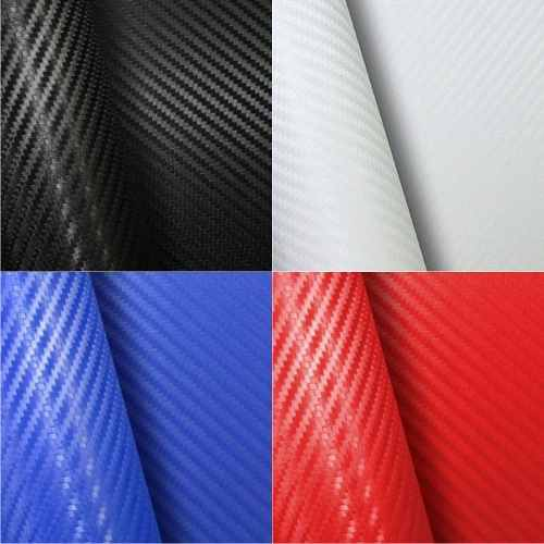 Adesivo Fibra De Carbono 3d Moldável Tipo Di-noc 46 X 160 Cm