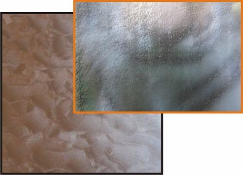 Adesivo Decorativo Jateado texturizado P/ Vidro, Box, Janela, Porta 5,0 x 0,61m
