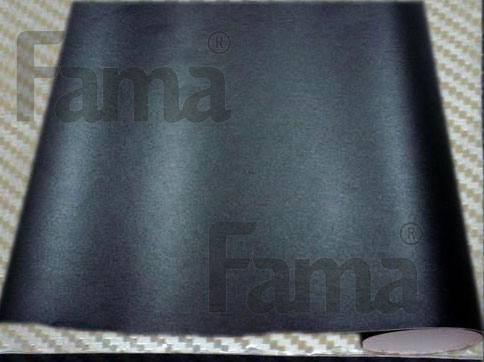Adesivo Preto Fosco Jateado Para Colunas de Carros 100 x 50 cm