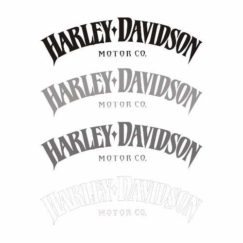 Adesivos Harley Davidson Iron 883 - 2 Adesivos