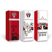 Adesivo Envelopamento de Geladeira E Freezer - Times Futebol - Frente e Laterais