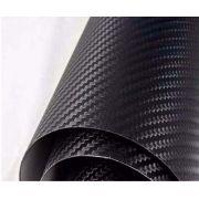 Adesivo Texturizado Estilo Fibra De Carbono 3D Moldável - Diversas Cores