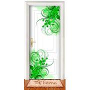 Adesivo Decorativo Para Portas de Madeira ou Vidro