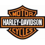 kit 2 Adesivos Logo Harley Davidson - 10 x 8 cm