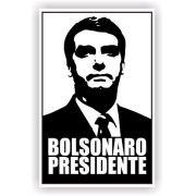 10 Adesivo P/ Carro E Parede Bolsonaro Presidente 13x20 Cm