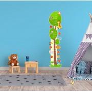 Adesivo Decorativo Infantil Régua Crescimento - Safari