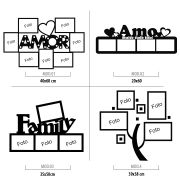 Adesivo Decorativo Porta Retrato - Diversos modelos